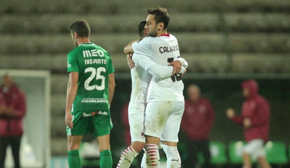 Çalhanoğlu, Milan'ı Avrupa'da tuttu