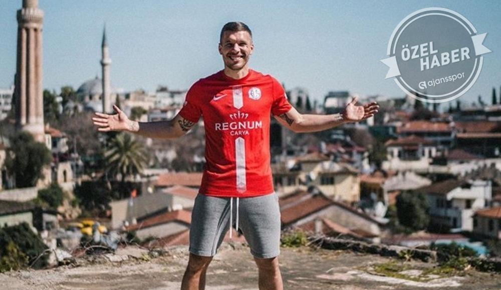 Podolski Antalya'nın tanıtım yüzü olacak