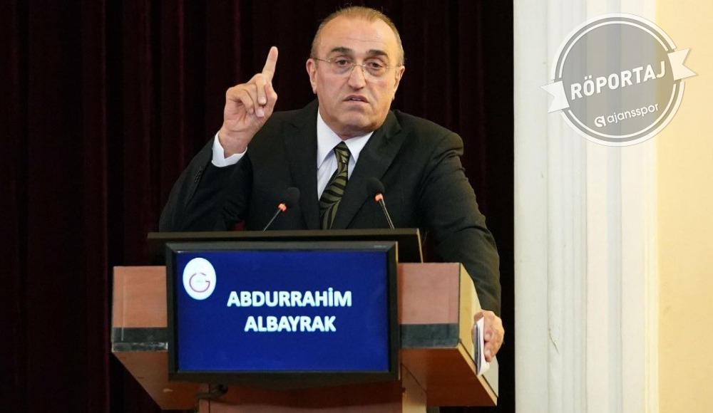"""""""Abdurrahim Albayrak için üzülüyorum"""""""