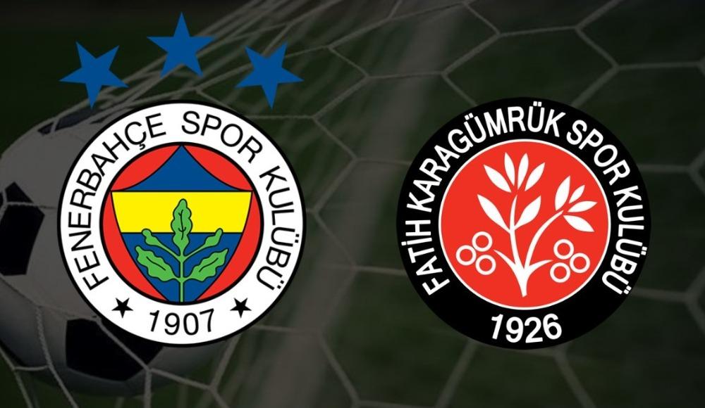 Fenerbahçe Karagümrük maç linki   Canlı izle
