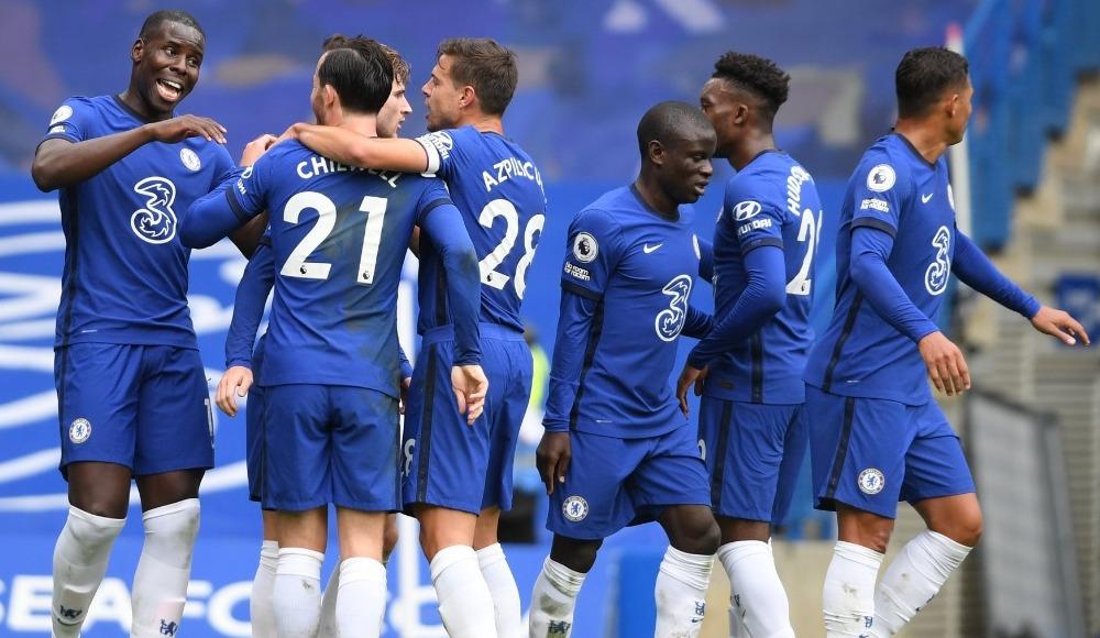 Chelsea dörtleyerek kazandı