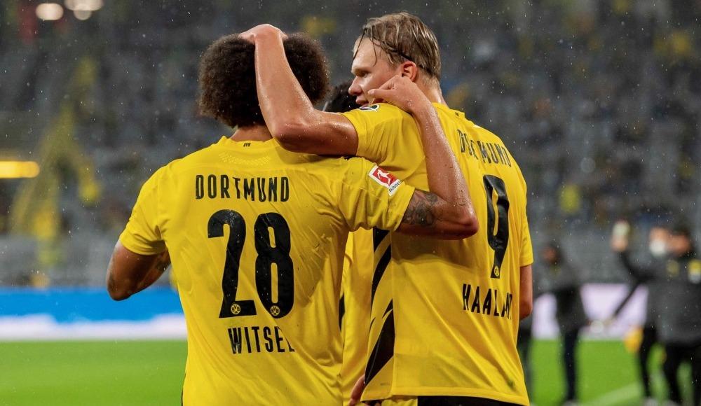Erling Haaland şov yaptı, Dortmund farklı kazandı