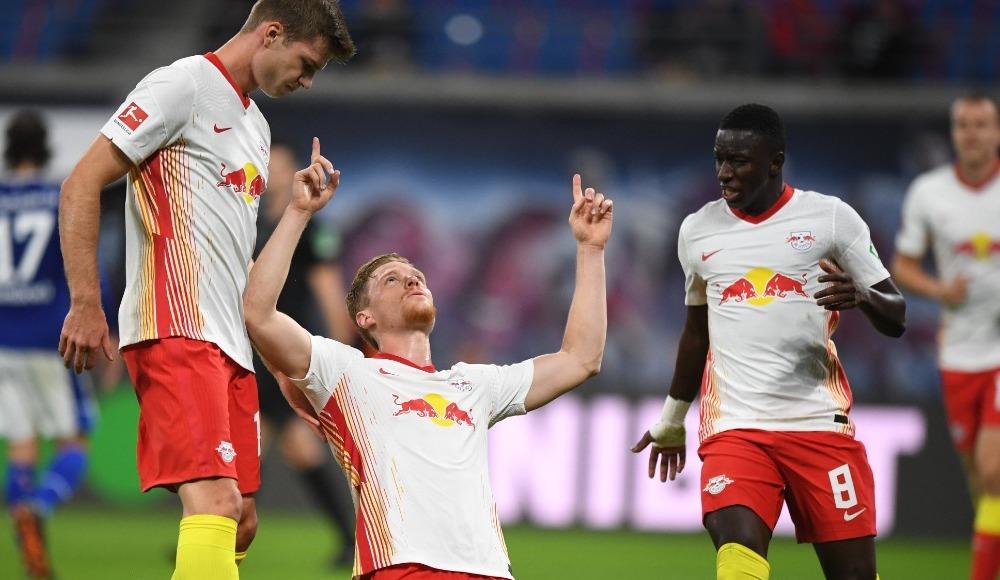 Leipzig, Schalke'yi dağıttı!