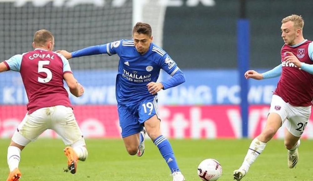 Cengiz'in ilk kez sahne aldığı maçta Leicester City kaybetti