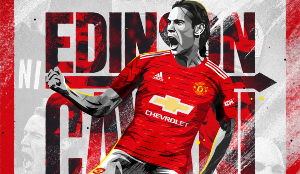 Edinson Cavani, Manchester United'da