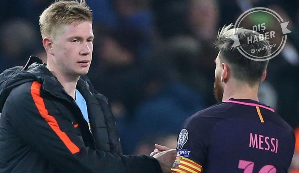 De Bruyne'den Messi sorusuna flaş cevap