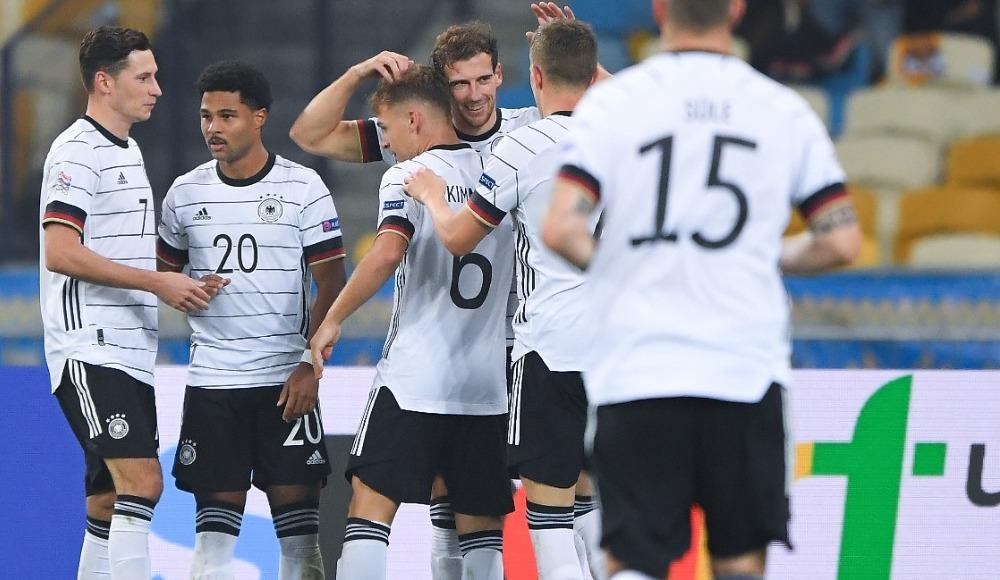 Almanya, Ukrayna'yı zor da olsa mağlup etti