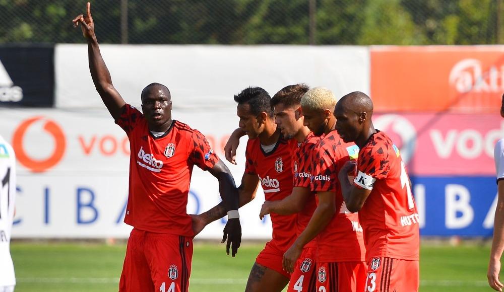 Beşiktaş Karagümrük'e patladı