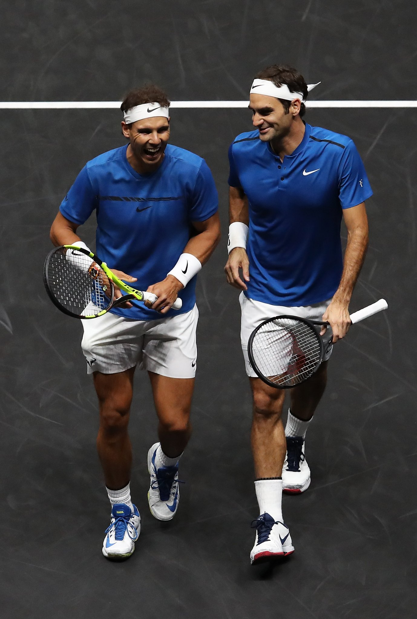 Nadal ve Federer'in şampiyonlukları