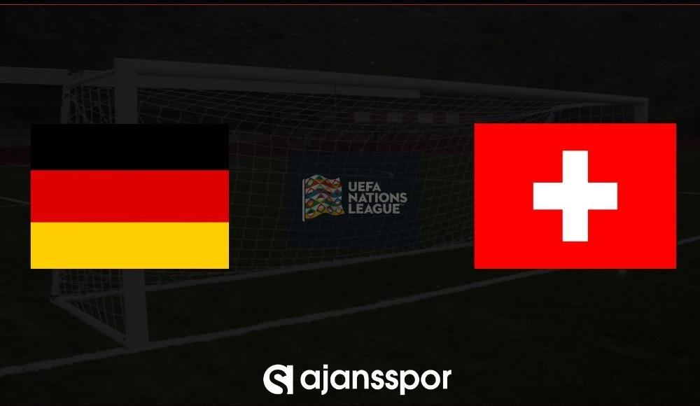 Almanya - İsviçre (Canlı Skor)
