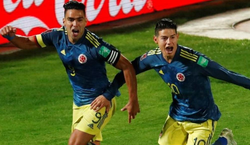 Kolombiya'yı son dakikada Falcao kurtardı!