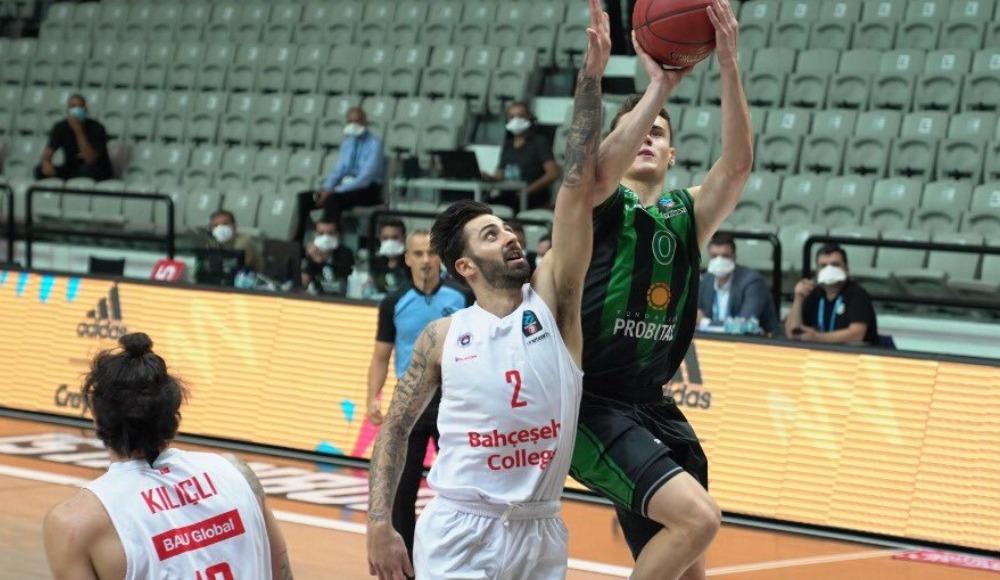 Bahçeşehir Koleji EuroCup'ta kayıplarda