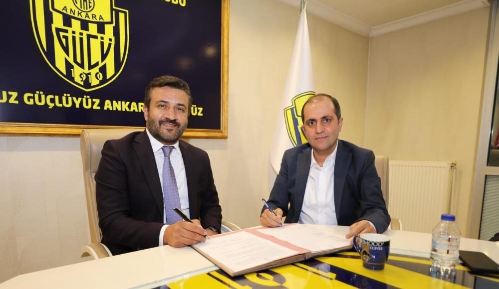 Ankaragücü'nün forma sırt sponsoru belli oldu