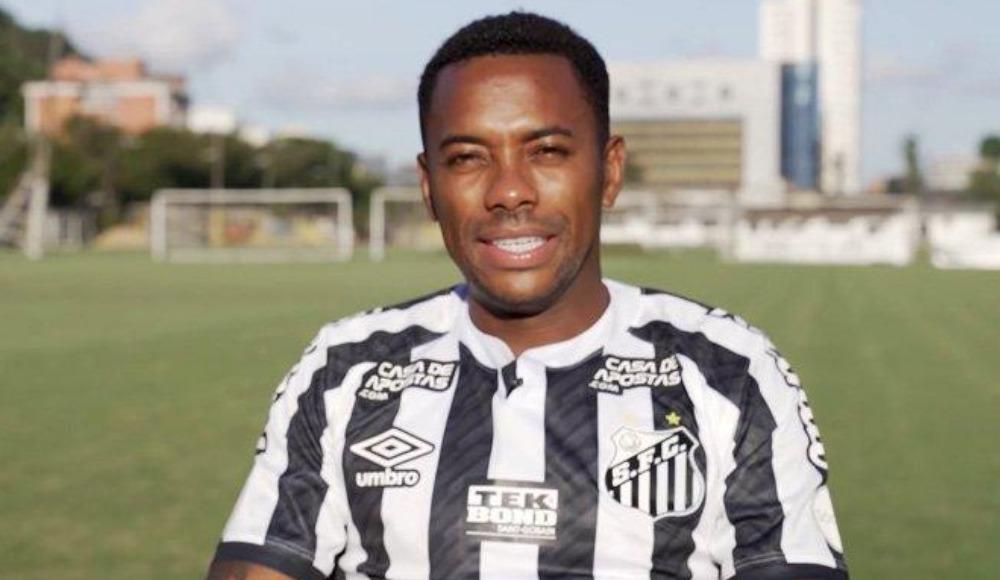 Robinho, Santos'tan ayrıldı