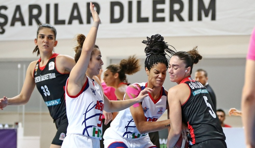 Briana Day coştu, Adana Basketbol kazandı