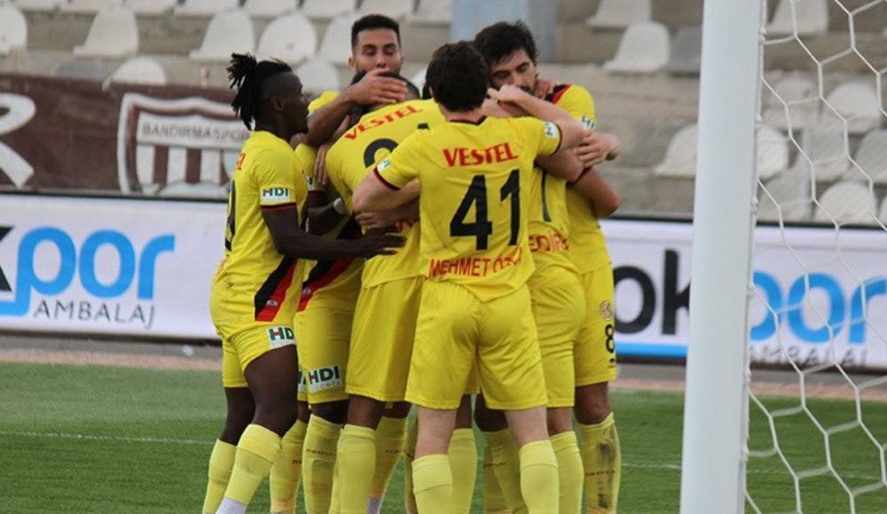 Eskişehirspor bu sezon deplasmanda ilk puanını aldı