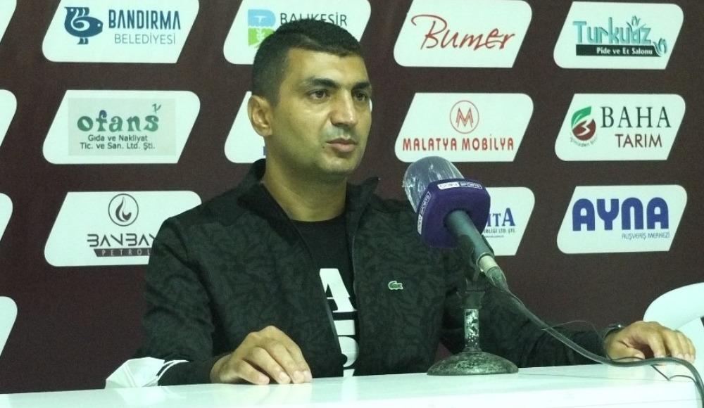 """Serdar Bozkurt: """"Bu beraberlik bizim için çok üzücü"""""""