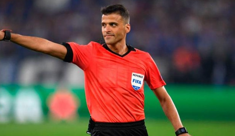 Leipzig - Başakşehir maçının hakemi Jesus Gil Manzano