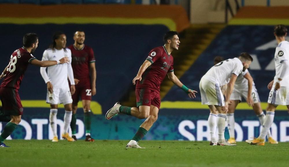 Wolves'a Leeds karşısında tek gol yetti