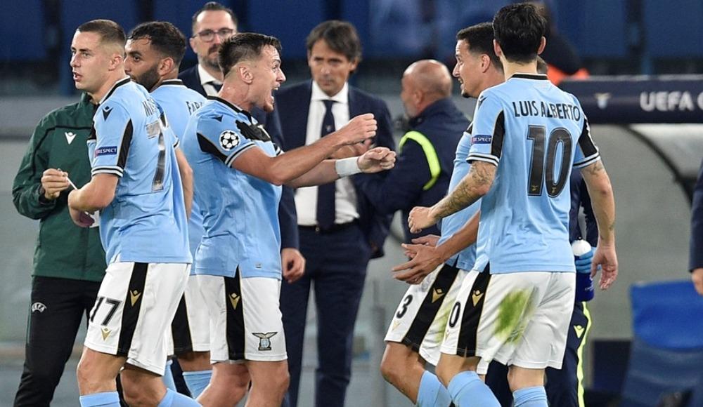 Lazio, Dortmund'u üçledi!