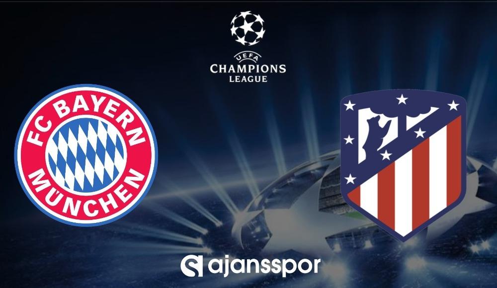 Bayern Münih - Atletico Madrid (Canlı Skor)