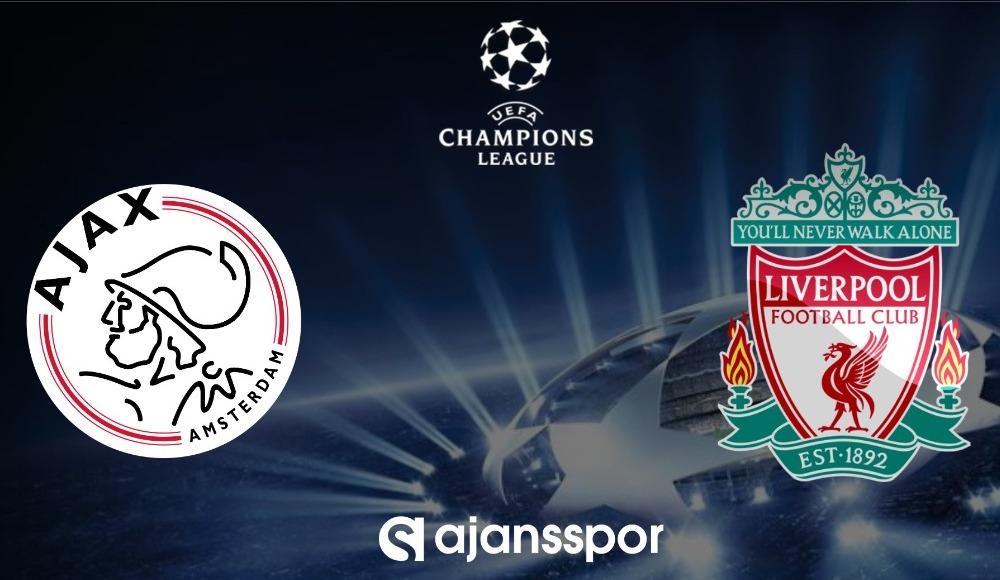 Ajax - Liverpool (Canlı Skor)