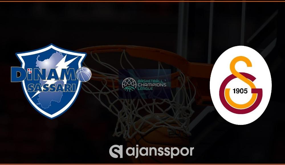 Dinamo Sassari - Galatasaray basketbol maçı canlı izle!
