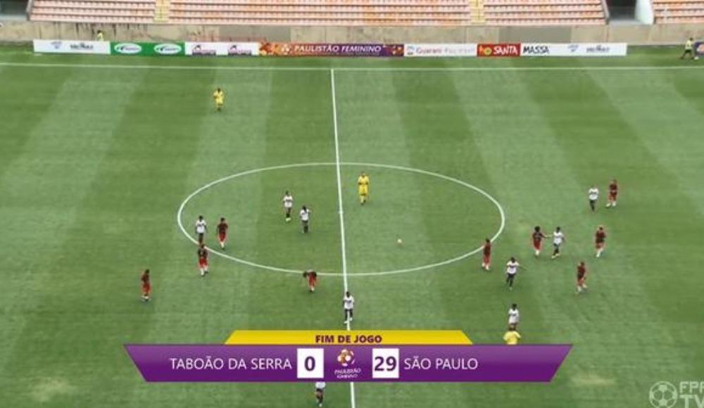 Sao Paulo 29-0 Taboao (Maç Özeti İzle)