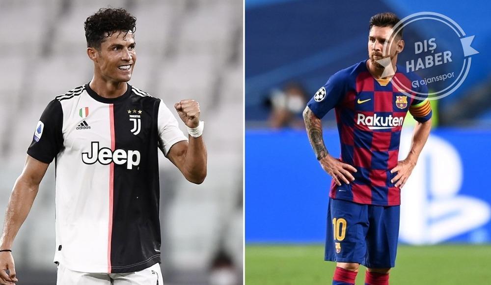 Messi - Ronaldo düellosuna koronavirüs engeli