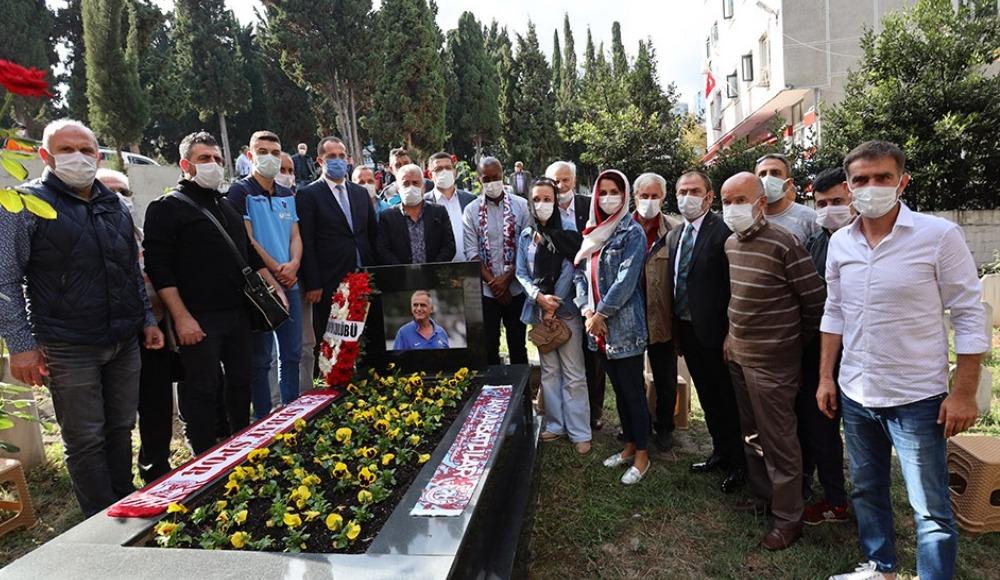 Trabzonspor Kadir Özcan'ı andı