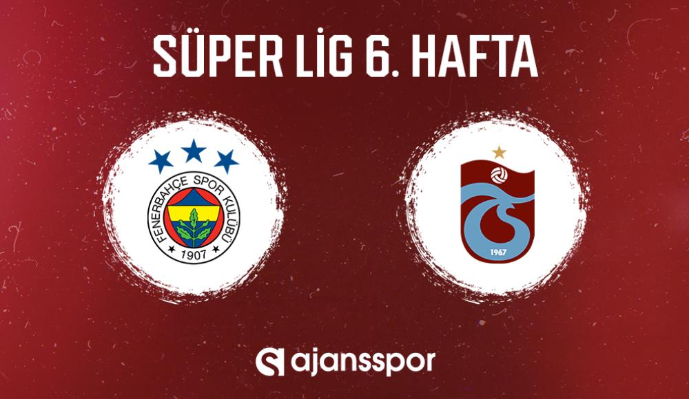 Fenerbahçe - Trabzonspor (Canlı Skor)