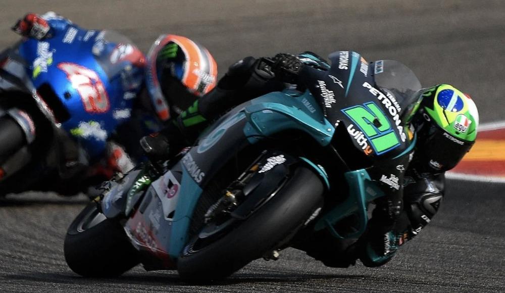 MotoGP Teruel Grand Prix'sini Franco Morbidelli kazandı