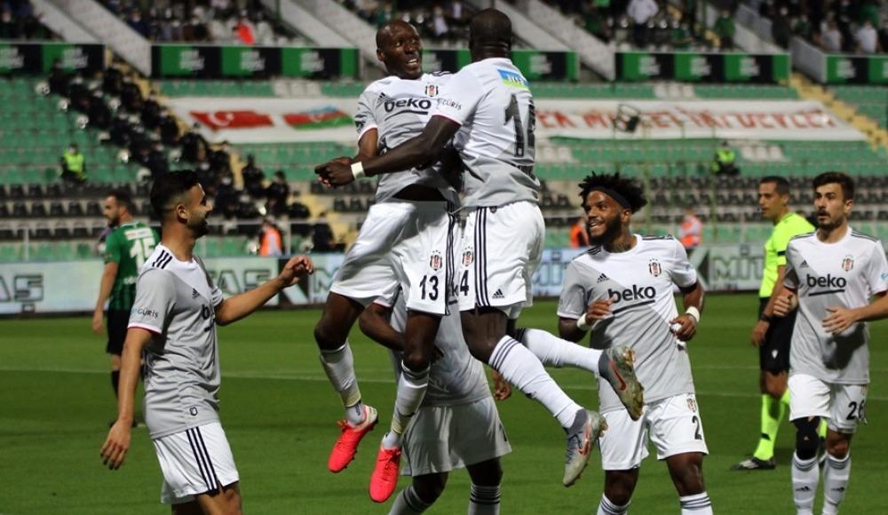 Aboubakar, Beşiktaş'ta açılışı yaptı