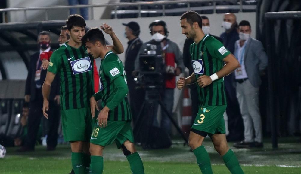 Bursa uzatmada penaltı kaçırdı, Akigolar 3 puanı kaptı