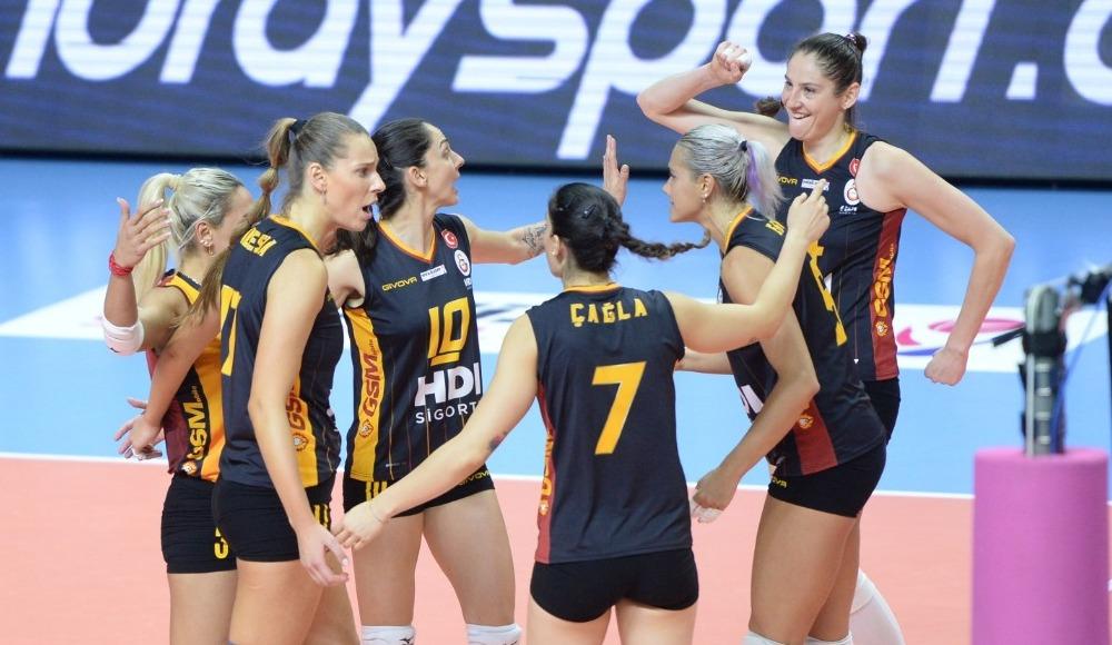 Galatasaray HDI Sigorta, Nilüfer Belediyespor'u deplasmanda yendi
