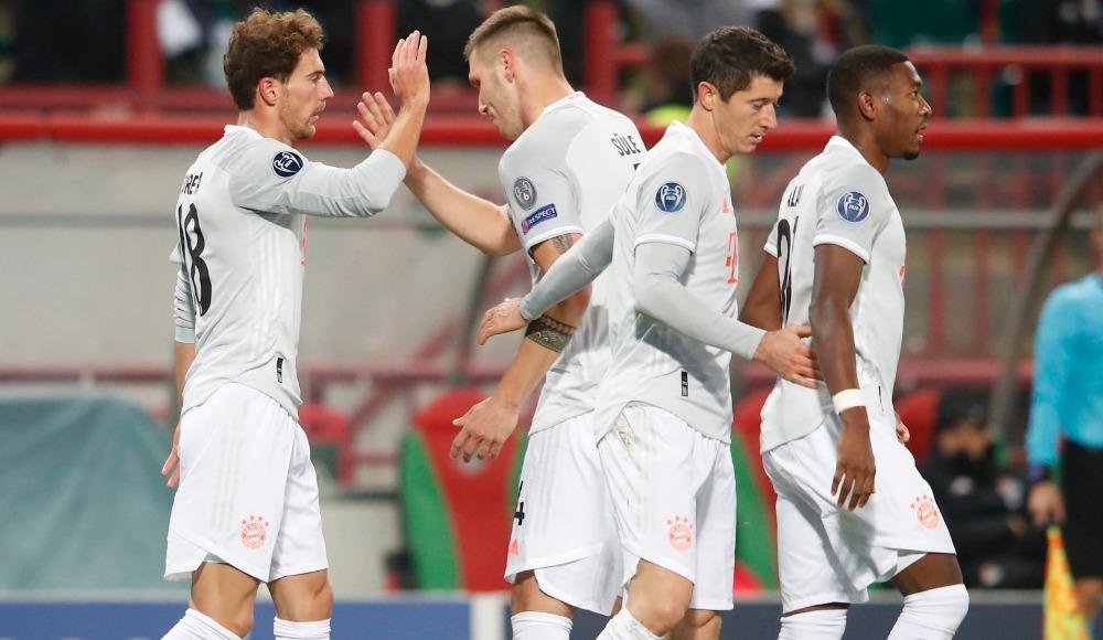 Bayern zorlandı ama kaybetmedi