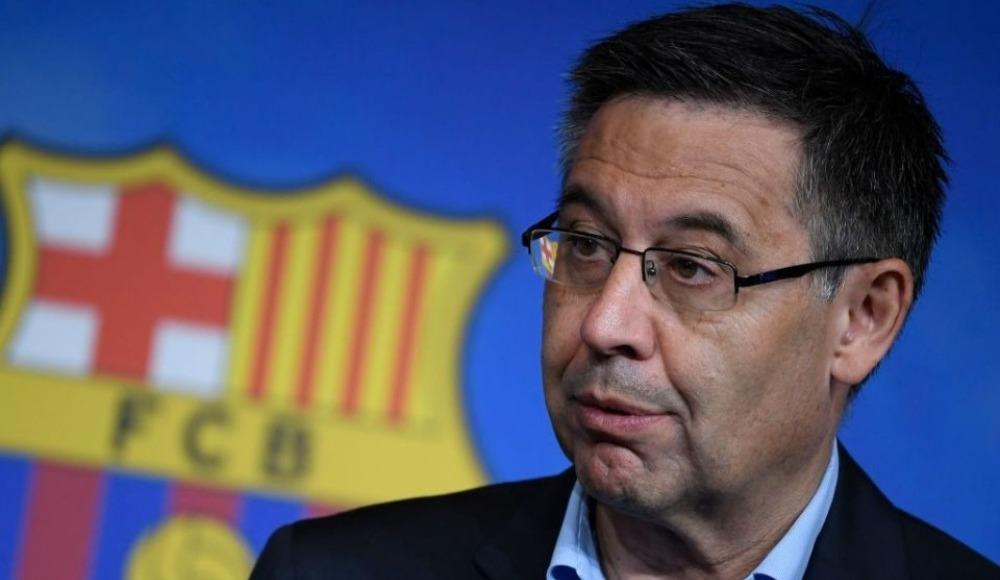 Barcelona'da başkan Josep Bartomeu istifa etti