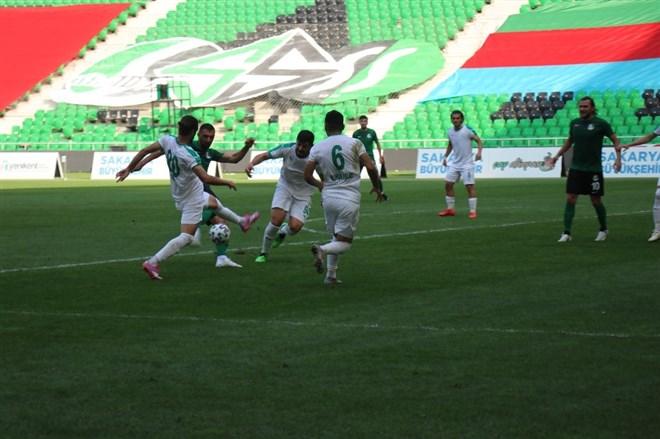 Sakarya'da kazanan çıkmadı: 2-2