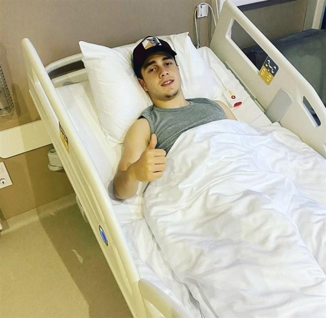 Bursaspor'un genç oyuncusu Vefa Temel ameliyat oldu