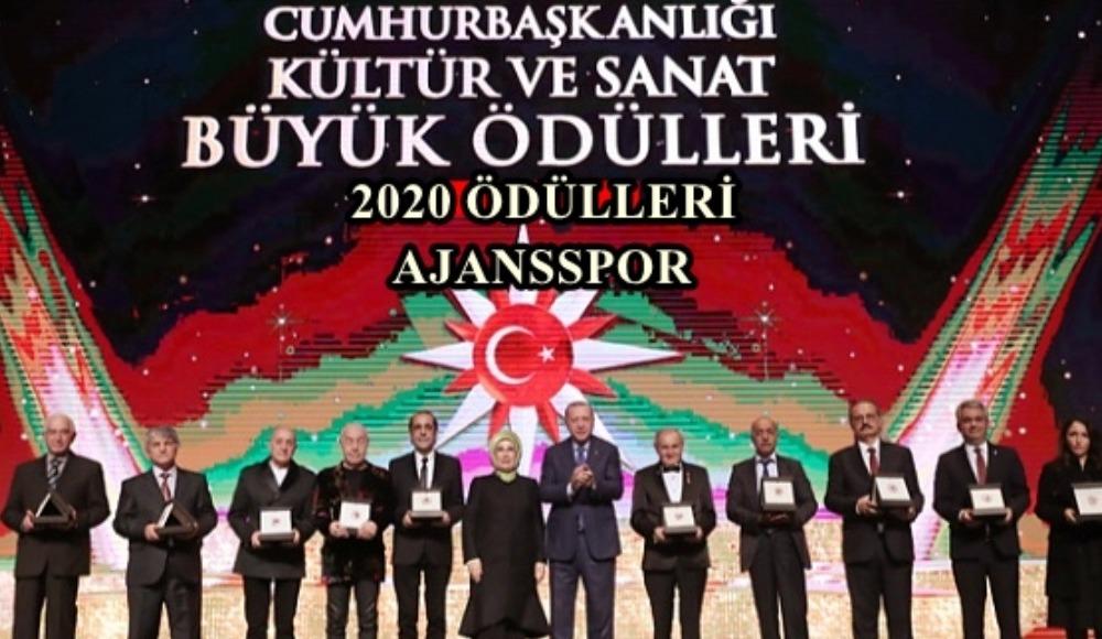 2020 Cumhurbaşkanlığı Kültür ve Sanat Ödülleri kimler aldı?