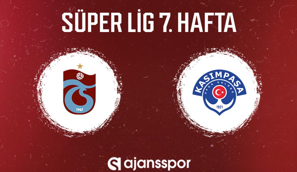 Trabzonspor - Kasımpaşa (Canlı Skor)