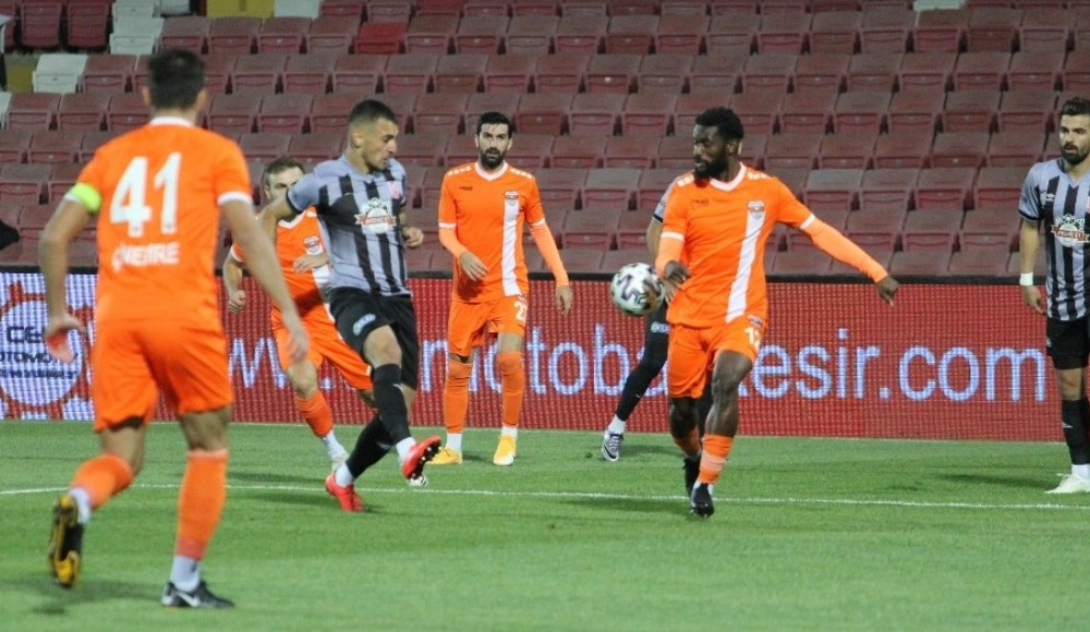 Adanaspor bu sezon deplasmanda ilk kez güldü