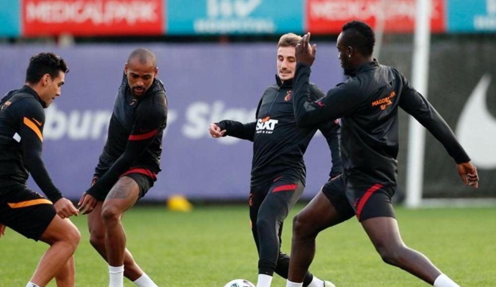 Galatasaray, MKE Ankaragücü maçının hazırlıklarını tamamladı