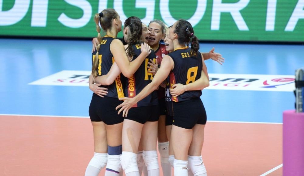 Galatasaray HDI Sigorta, deplasmanda kazandı