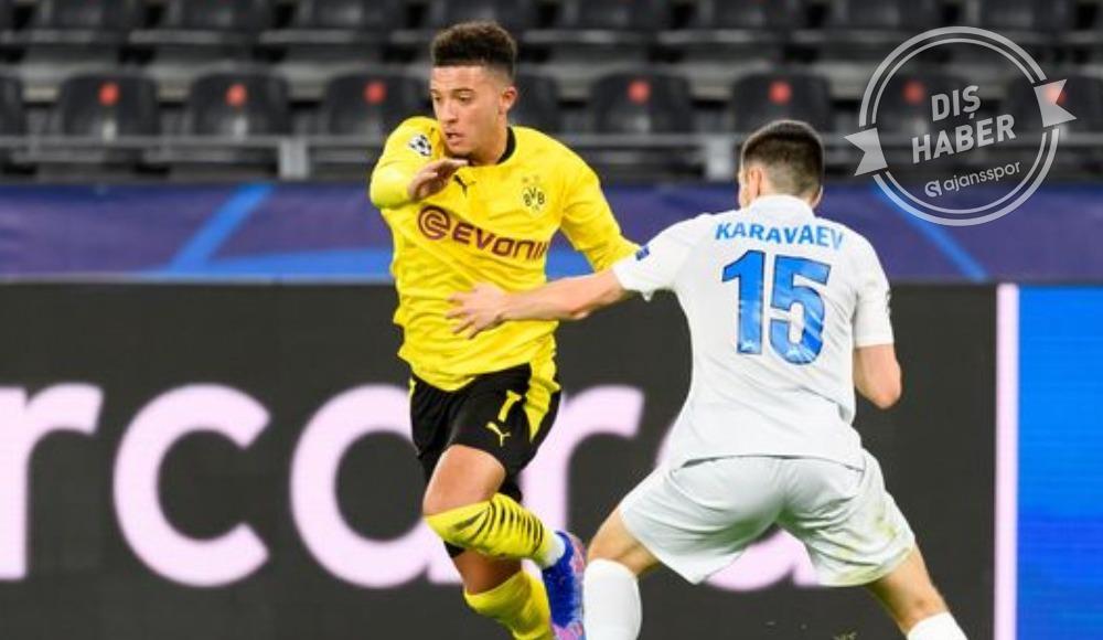Borussia Dortmund'dan Sancho ve Manchester United açıklaması
