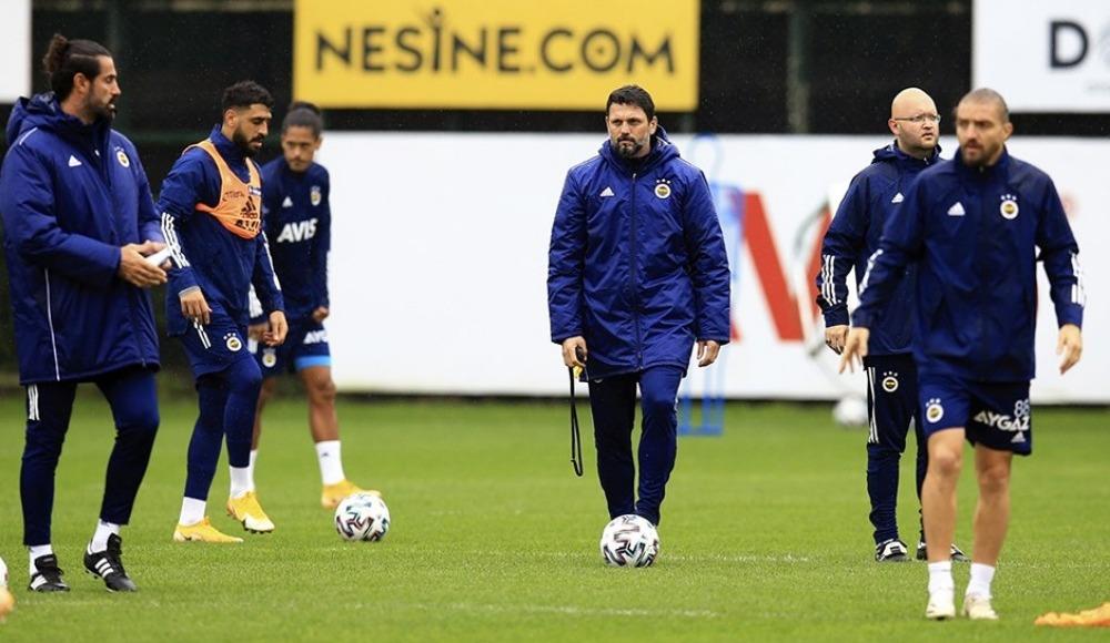 Fenerbahçe'de Sosa antrenmanı yarıda bıraktı