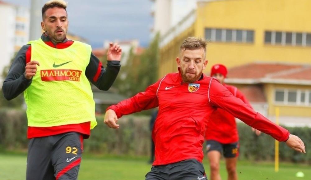Kayserispor Hatayspor maçı hazırlıklarına başladı