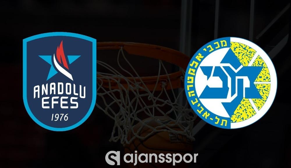 CANLI | Anadolu Efes - Maccabi Tel Aviv