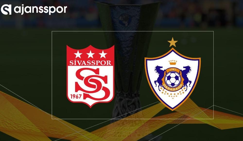 Sivasspor - Qarabağ maçı canlı izle!