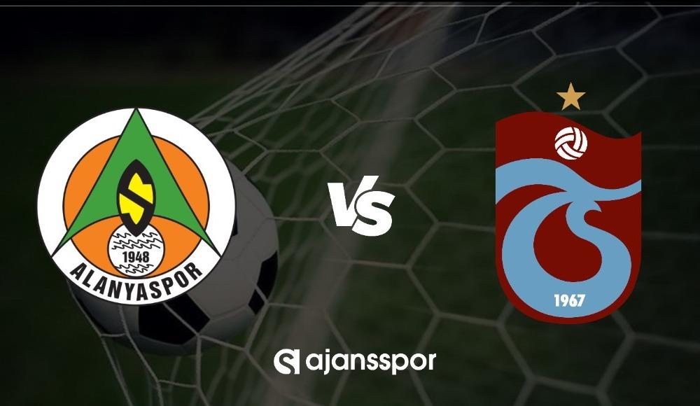 Alanyaspor - Trabzonspor maçı canlı izle!